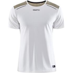 Craft Pro Hypervent SS T-shirt Herrer, hvid/beige